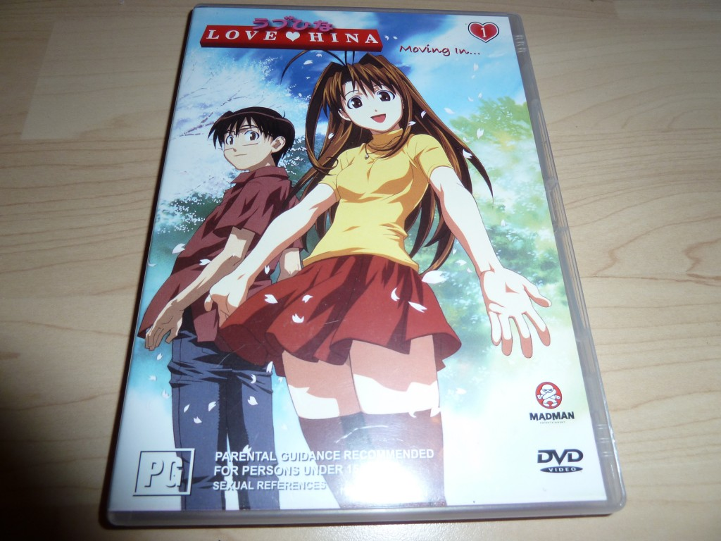 Love Hina - Moving In...